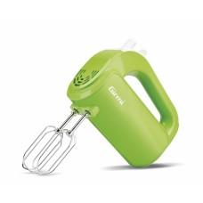 Girmi SB02 Electric Hand Mixer 5 Speeds 170W Hooks & Beaters Light Weight Green