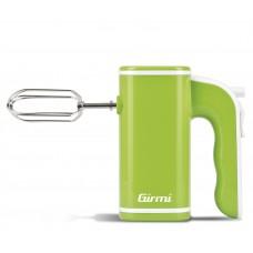 Girmi SB03 Electric Hand Mixer 5 speeds Dough Hooks & Beaters 150W GREEN
