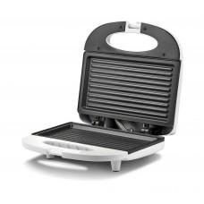 Girmi TS0301 Tostiera Sandwich Toaster  Large Plate 21.5cm x 12cm Non Stick 750W White